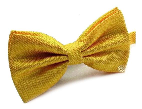 Corbata De Moño Clasico Para Hombre Grin Accs Color Amarillo