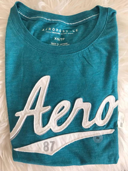 Remera Mujer Aeropostale Logo Talle Extra Small
