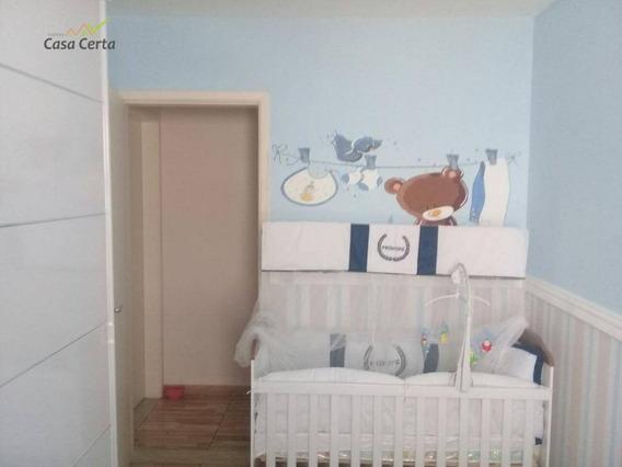 Apartamento Residencial À Venda, Jardim Suécia, Mogi Guaçu. - Ap0068