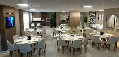 Apartamento Com 2 Dormitórios À Venda, 68 M²- Capoeiras - Florianópolis/sc - Ap0847