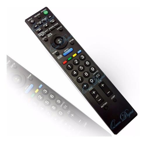 Imagen 1 de 10 de Control Remoto Para Led Tv Sony Bravia Reemplaza A Rm-yd066