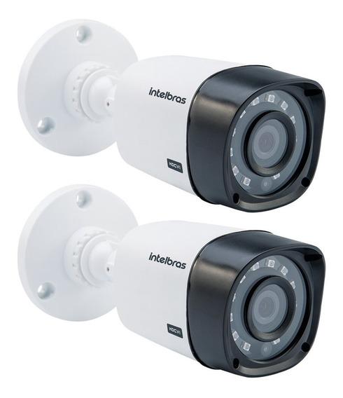 2-câmeras Intelbras Multi Hd Vhd 1120b 720p 2.6mm G4.