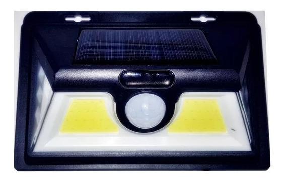 Luminária Solar Sensor Movimentos 52 Leds Luz Noturna 45w
