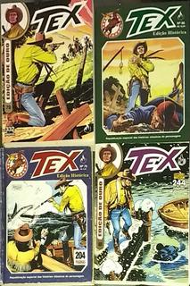 Coleção- 5 Tex Gibi Faroeste -aventura -ação