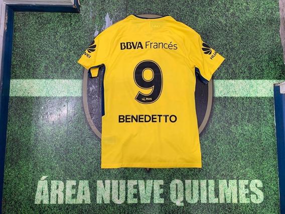 Camiseta Boca Amarila #9 Benedetto