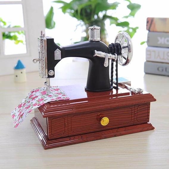 Máquina De Costura Musical - Caixa De Música -porta-jóia