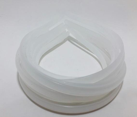 600 Tiara Arco Plástico Montagem 10mm Silicone Inquebravel