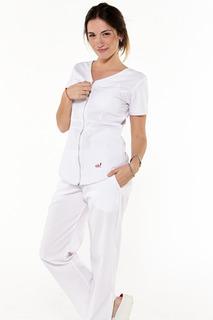 Ambo De Diseño Oh! Wear - Nina Poly Blanco