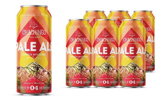 Cerveza Chachingo 473cc Pack X 12 Latas Pale Ale