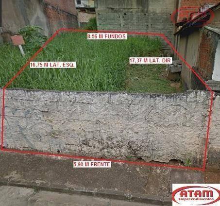 Lote Com 125 M² Vilka Curuça - Pronto Para Construir - Te0093