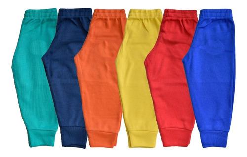 Imagen 1 de 7 de Pantalón Para Niño 6 Piezas 100% Algodón Talla 2-5 Años Ml
