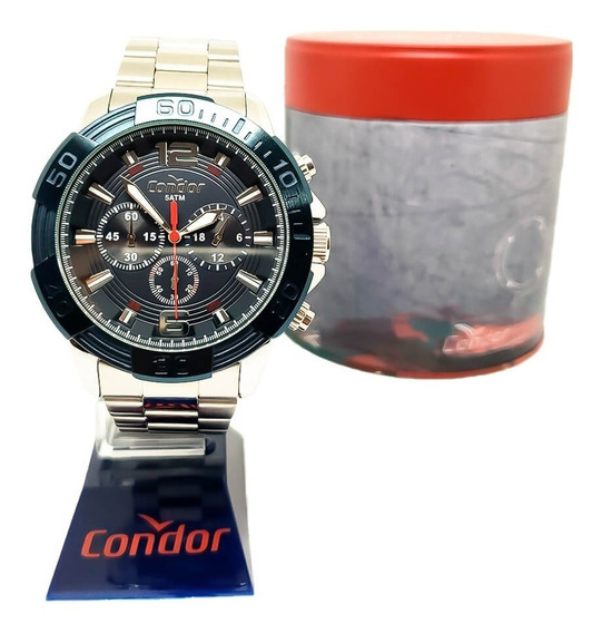 Relógio Condor Cronógrafo Masculino Covd54ba/3a Original