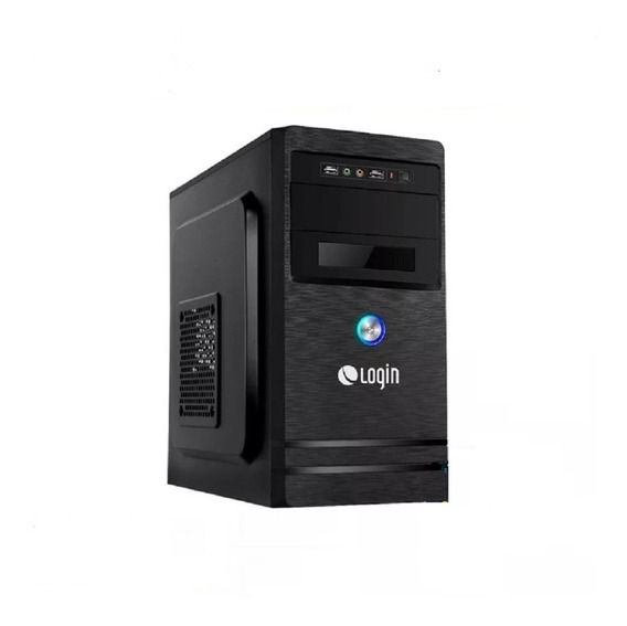 Desktop Login Pentium Gold G5400, 4gb Ram, Hd 500gb Linux