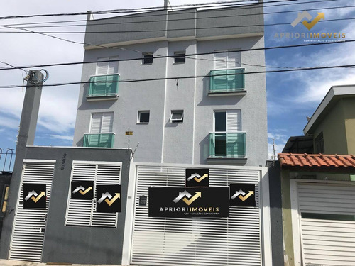 Cobertura Com 2 Dormitórios À Venda, 50 M² Por R$ 285.000 - Vila Alto De Santo André - Santo André/sp - Co0109