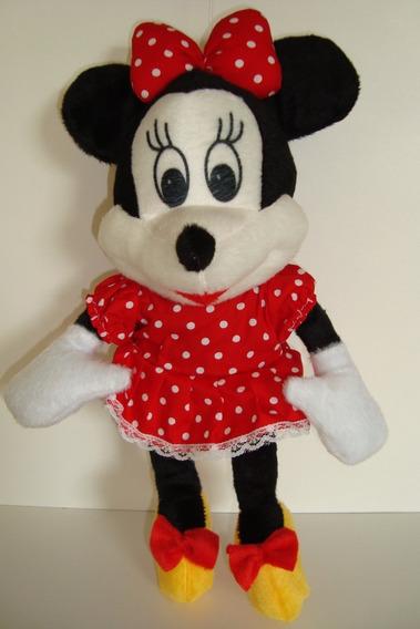 Boneca Urso De Pelúcia Minnie Mouse 37 Cm Anti Alérgico