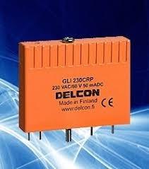 Kit 3 Plug In Relé Delcon Gli 120crp 120 Vac / 60v