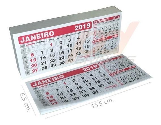 Calendário Refil De Mesa - Para Lembrancinhas Kit 200 Peças