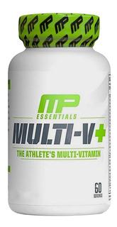 Multi-v+ Multivitamínico (60 Caps) Musclepharm