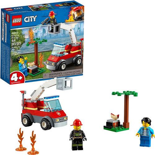Lego City 60212 Barbecue Burn Out Barbacoa Original