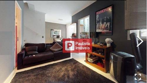 Apartamento Duplex Com 2 Dormitórios À Venda, 74 M² Por R$ 890.000 - Moema - São Paulo/sp - Ap28635