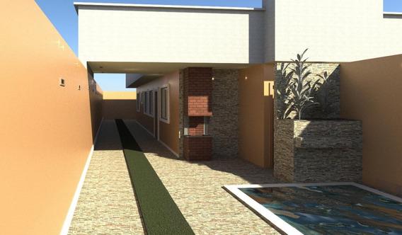 Casa Para Venda No Grandesp Em Itanhaém - Sp - 4863
