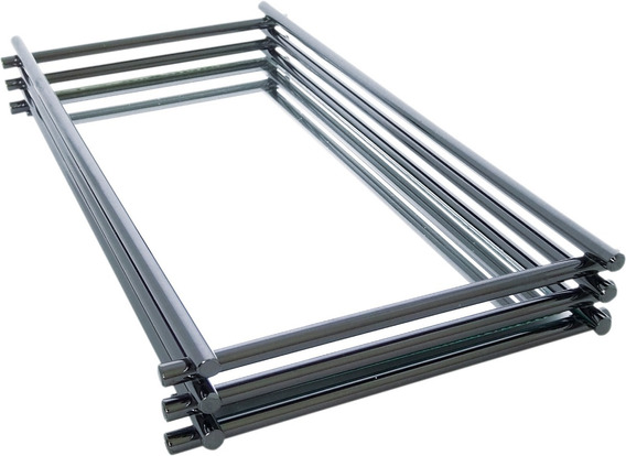 Bandeja Wire - 15 X 25 Cm - Espelho - Onix