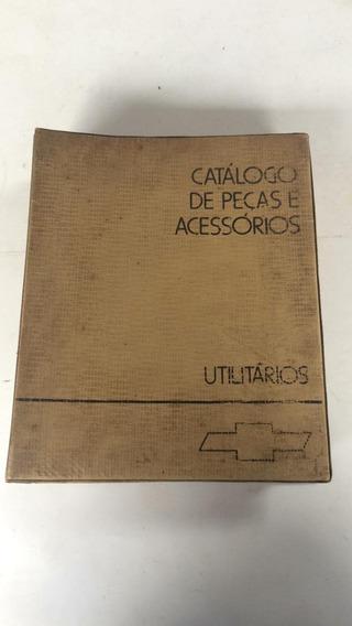 Catálogo Assessórios Peças Utilitários Original Chevrolet
