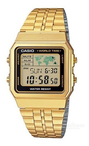 Relógio Casio Dourado Vintage A500wga-9 Retro Original