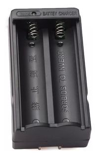 Cargador Dual Pila Batería Recargable 18650 Li-ion 3.6v 3.7v