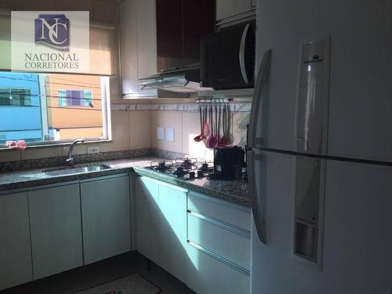 Sobrado Com 2 Dormitórios À Venda, 84 M² Por R$ 330.000,00 - Parque Das Nações - Santo André/sp - So3072