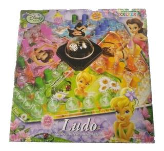 Ludo Cubilete Automático Hadas Tinker Bell Disney Original