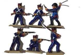 Granaderos Soldados Antiguos Juguete Colección San Martín F