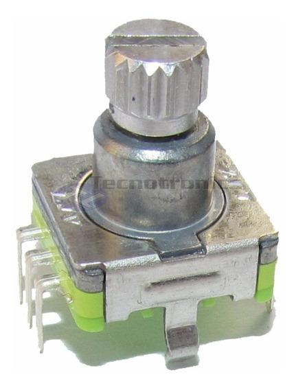 Potenciometro Rotativo Encoder Chave Volume Dvd Cd H Buster