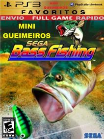 Ps3 Sega Bass Fishing Pescaria Digital Vara De Pesca Molinet