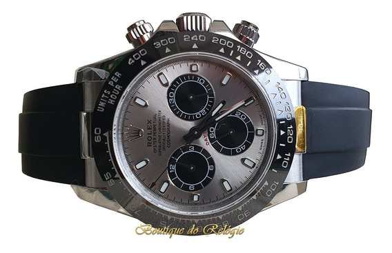 Relógio Eta - Mod Day.tona Platinum Sa4130 - Aço 904 Noob V3