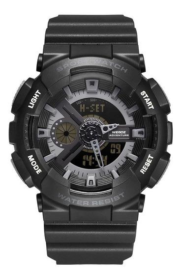 Relógio Masculino Original Shock Esportivo A Prova Dagua D84