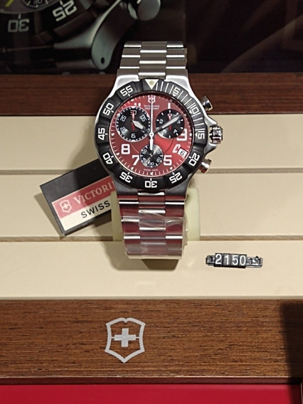 Relógio Victorinox Summit Xlt Chrono 241342 Cx 41.5mm Quartz