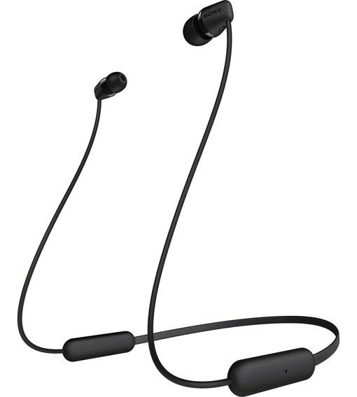 Fone Bluetooth Wi-c200 Preto Sony- Garantia: 180 Dias