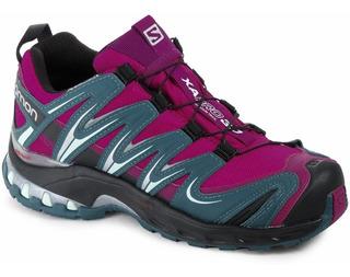 zapatillas salomon impermeables mujer precio