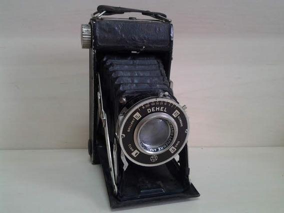 Antiga Camera Fotográfica Dehel Agc França