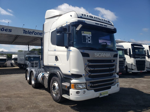 Scania R440 6x2, 2018 - Highline