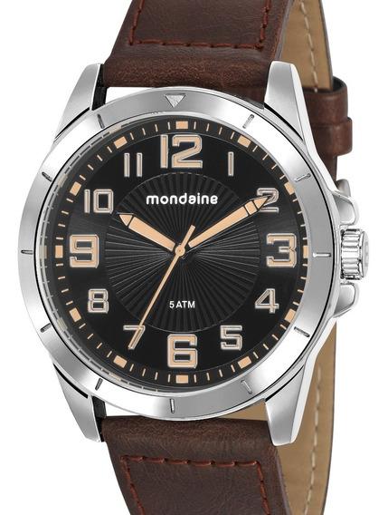 Relógio Mondaine Masculino Couro 76720g0mvnh1