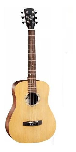 Imagen 1 de 2 de Guitarra Acústica Cort Ad Mini Op Viajera