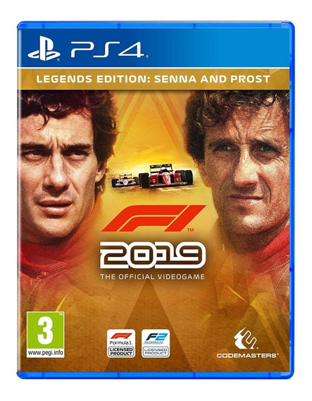 F1 2019 - Legends Edition Ps4 - Mídia Física Pronta Entrega