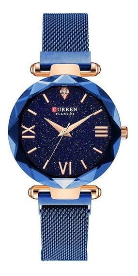 Reloj Curren Damas Mod. 9063 Elegante Moderno 100% Original