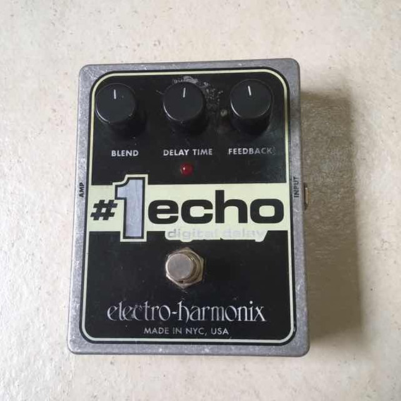 Pedal Electro Harmonix #1 Echo Digital Delay Ehx Original