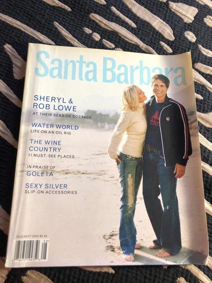 Revista Importada Santa 05 Bárbara Sheryl Rob Lowe Ator