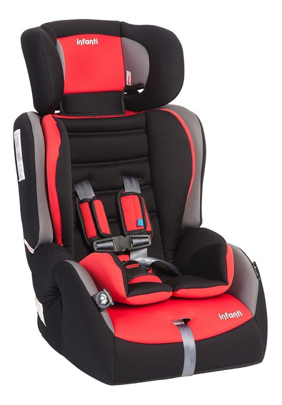 Silla Auto Butaca Grand Prix Journey Red Infanti