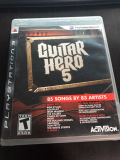 Guitar Hero 5 Ps3 Físico