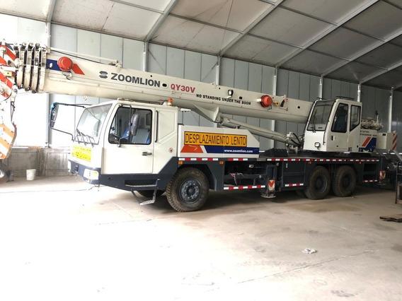 Camion Grua Zoomlion 30 Ton Año 2012